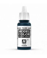 AV Vallejo Model Color VAL899 - Dark Prussian Blue - Paint