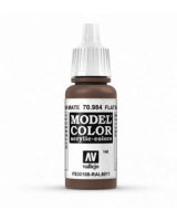 AV Vallejo Model Color VAL984 - Flat Brown - Paint
