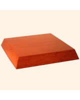 B-002 Wooden Base/ Plinth 7,50 x 8,0 Cm