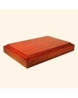 B-015 Wooden Base/ Plinth 8,5/9,5 x 9,5/14,50 Cm