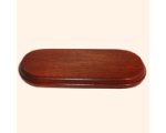 B-027 Wooden Base/ Plinth 18,5 x 6,2cm