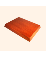 B-038 Wooden Base/ Plinth 11,5 x 8,5 Cm / 12,5 x 9,5 Cm