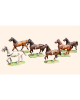 2D T.S. Willie Box Continental Horses Walking Kit