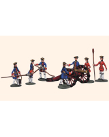 DF06 T.S. Willie Box The French Kings Gunners 7 figures Kit