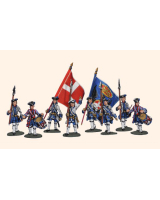 DWIP1 T.S. Willie Box Piedmontese Infantry Command Kit