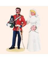 AC04B C Groom Dragoon Guards and Bride Kit