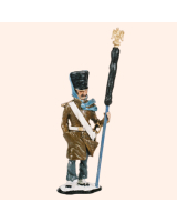 AC09L Eagle Bearer French Infantry Painted