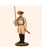 AL54 10 T.S. Officer Cavalry Painted