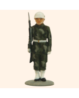 AL54 13 T.S. Private Guard in Battle Dress Painted