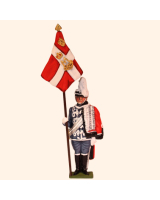 D1-02 T.S. Standard Bearer Danish Guard Hussars Kit