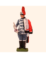D1-03 T.S. Trumpeter Danish Guard Hussars Kit
