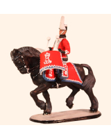 D1-07 T.S. Kettle Drummer Danish Guard Hussars Kit