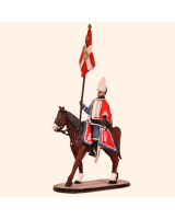 D1-08 T.S. Standard Bearer Danish Guard Hussars Kit