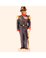 D3-01 T.S. Officer Danish Navy 1880 Kit
