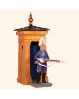 DS 05DS T.S. Mounted Life Guard Guard Dress, Full Dress with sentry box Kit