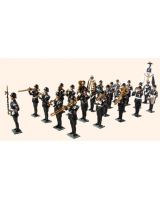 T.S. Complete set of Regimental Band 20 figure Painted