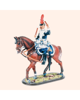 KD54 03 Kettledrummer 13th Uhlans 1st Hannoverians c.1905 Painted