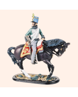 M54 16 Trooper 4th Hussars Painted