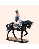 M54 22 Mounted Field Officer Painted