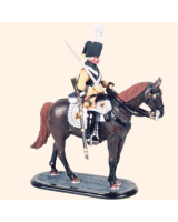 M54 39 Trooper Cuirassier Regiment No. 4 Painted