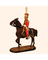 M54 54 Officer 2nd Dutch Red Lancers of the Guard Painted