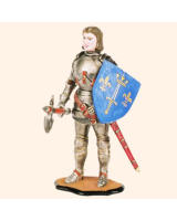 MED 03 Joan of Arc Painted