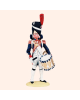 NF 03D Drummer French Line Infantry Full Dress 1807-1812 Painted