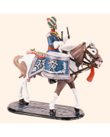 SQN54 210 Kettledrummer 13th Duke of Connaughts Lancers Painted