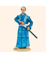 T54 144 Samurai in Robes Painted