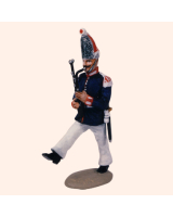 T54 166 Musician Bassoon Painted