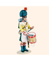 T54 183 Drummer Highland Infantry 1815 Painted