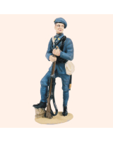 T54 296 Private Chasseurs Alpine Painted