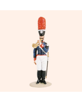 T54 322 Bandsman Fanfare The Band of the Prussian 1st Foot Guards Painted
