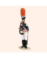 T54 331 Bandsman Serpent The Band of the Prussian 1st Foot Guards Painted