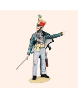 T54 425 Officer 5th Hussars Painted