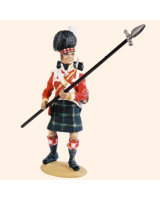 T54 446 Sergeant Highland Infantry 1815 Kit