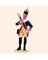 T54 496 Grenadier Preparing for Parade The Prussian Army c. 1756 Painted