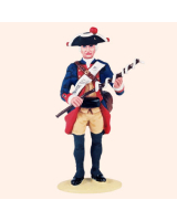 T54 514 Artilleryman with linstock Prussian Artillery c. 1756 Painted