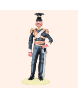 T54 560 Officer 17th Lancers Painted