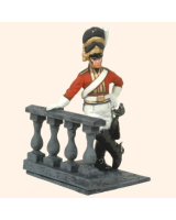 T54 578 Officer in full dress 2nd Royal North British Dragoons the Scots Greys 1815 Painted