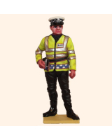 T54 620 Motorcycle Policeman Painted