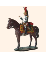 ToL90 23 French Empress Dragoon 1812 Trooper Painted