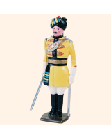 007a 1 Toy Soldier Officer at attention Kit