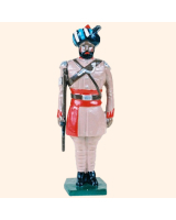 044 2 Toy Soldier Sergeant at attention Kit