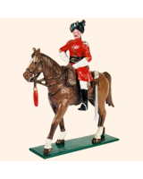 066 1 Toy Soldier Officer on horseback Kit