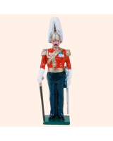 073 1 Toy Soldier Officer Gentleman at Arms Kit