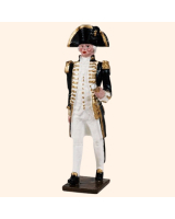 074 2 Toy Soldier Naval Officer Kit