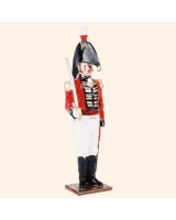 075 1 Toy Soldier Officer at attention Kit