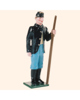 078 2 Toy Soldier Gunner with handspike Kit