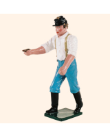 078 5 Toy Soldier Gunner with thumb stall Kit